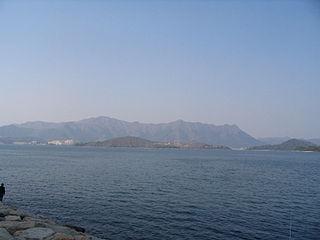 Yim Tin Tsai (Tai Po) island in Peoples Republic of China