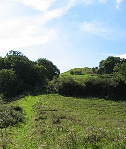 Path to Brent Knoll. - panoramio