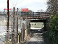 Path under the line, Headingley Station - geograph.org.uk - 152012.jpg