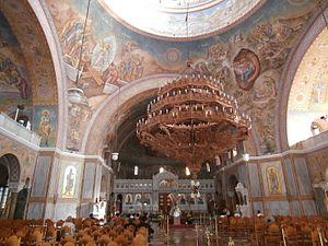 St Andrew's Cathedral, Patras - Interior