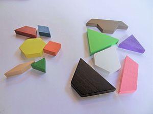 Pattern Blocks - Pattern Blocks and Deci-Blocks