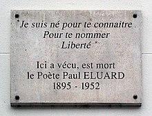 Paul éluard Wikipédia