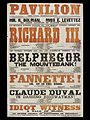 Pavilion Theatre Mixed Playbill, 1868.jpg