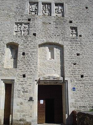 Pazin Castle - Image: Pazinski kaštel ulaz
