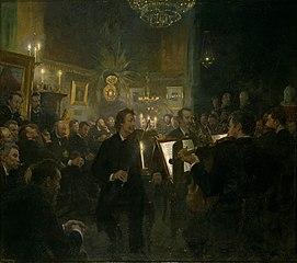 Musik i Atelieret