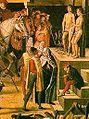 Pedro Berruguete - Saint Dominic Presiding over an Auto-da-fe (1475) ausschnitt.jpg