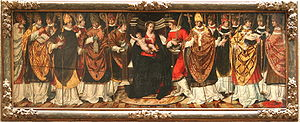 Contumeliosus of Riez - provincial council representing probably the condemnation of the bishop Contumeliosus, sixth from the left