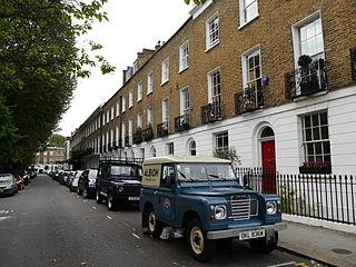 Pembroke Square, London square in Kensington, London, England