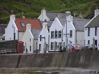 Local Hero (1983 film) - Pennan, Aberdeenshire, which featured as the fictional village of Ferness