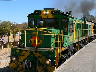 South Australian Railways 830 class - 902 after rebuild from 832 at Tanunda in March 2008