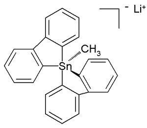 Organotin chemistry - Pentaorganostannane