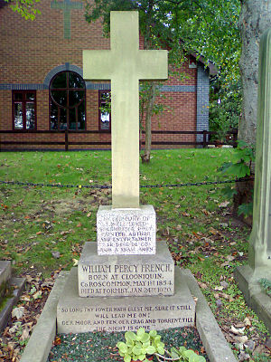 Formby - Image: Percy French Grave