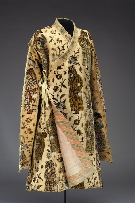 Persian coat owned by Christina, probably woven under Shah Abbas the Great's Government (1586-1628) Persisk rock - Livrustkammaren - 85153.tif
