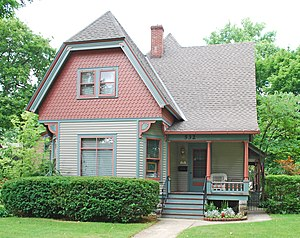 National Register of Historic Places listings in Kalamazoo County, Michigan - Image: Peter B Appledorn House Kalamazoo MI