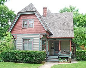 National Register of Historic Places listings in Kalamazoo County, Michigan - Image: Peter B Appledorn House Kalamazoo MI