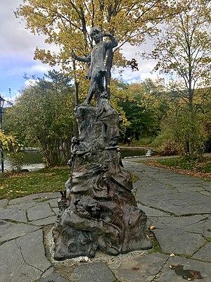Bowring Park (St. John's) - Peter Pan Statue, St. John's, Canada