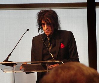 Peter Wolf - Wolf speaking at the 2014 Laurence L. & Thomas Winship/PEN New England Award for Songwriting ceremony at Boston's John F. Kennedy Presidential Library and Museum