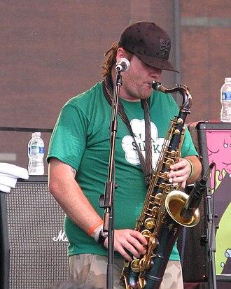 "Peter ""JR"" Wasilewski - Wasilewski performing in Philadelphia, Pennsylvania on June 29, 2008"