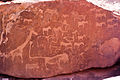 Petroglyphs - Giraffe, lion, and others (3690510568).jpg