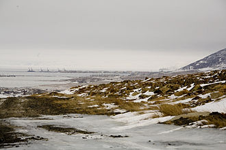East Siberian Sea - View of Pevek