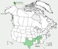 Phemeranthus calcaricus US-dist-map.png