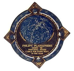 Planisphere - Philips' Planisphere, ca. 1900