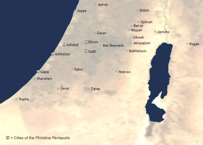 Philistines pentapolis