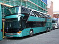 Phoenix Bussing coach (BS56 PBS), Newcastle upon Tyne, 7 October 2013.JPG