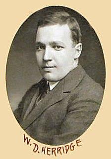 William Duncan Herridge Canadian politician