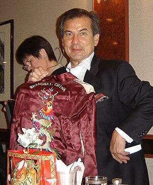 Mario Machado - Machado at his 70th birthday party in 2005.