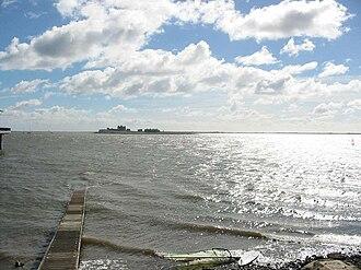 Piel Island - Piel Island from Roa Island