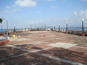 Bombay Presidency Radio Club - Pier at Bombay Presidency Radio Club as seen from the club