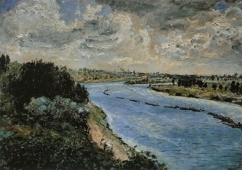 Fichier:Pierre-Auguste Renoir - Chalands sur la Seine.jpg