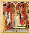 Pietro lorenzetti e aiuti, san sabino davanti al governatore romano.jpg