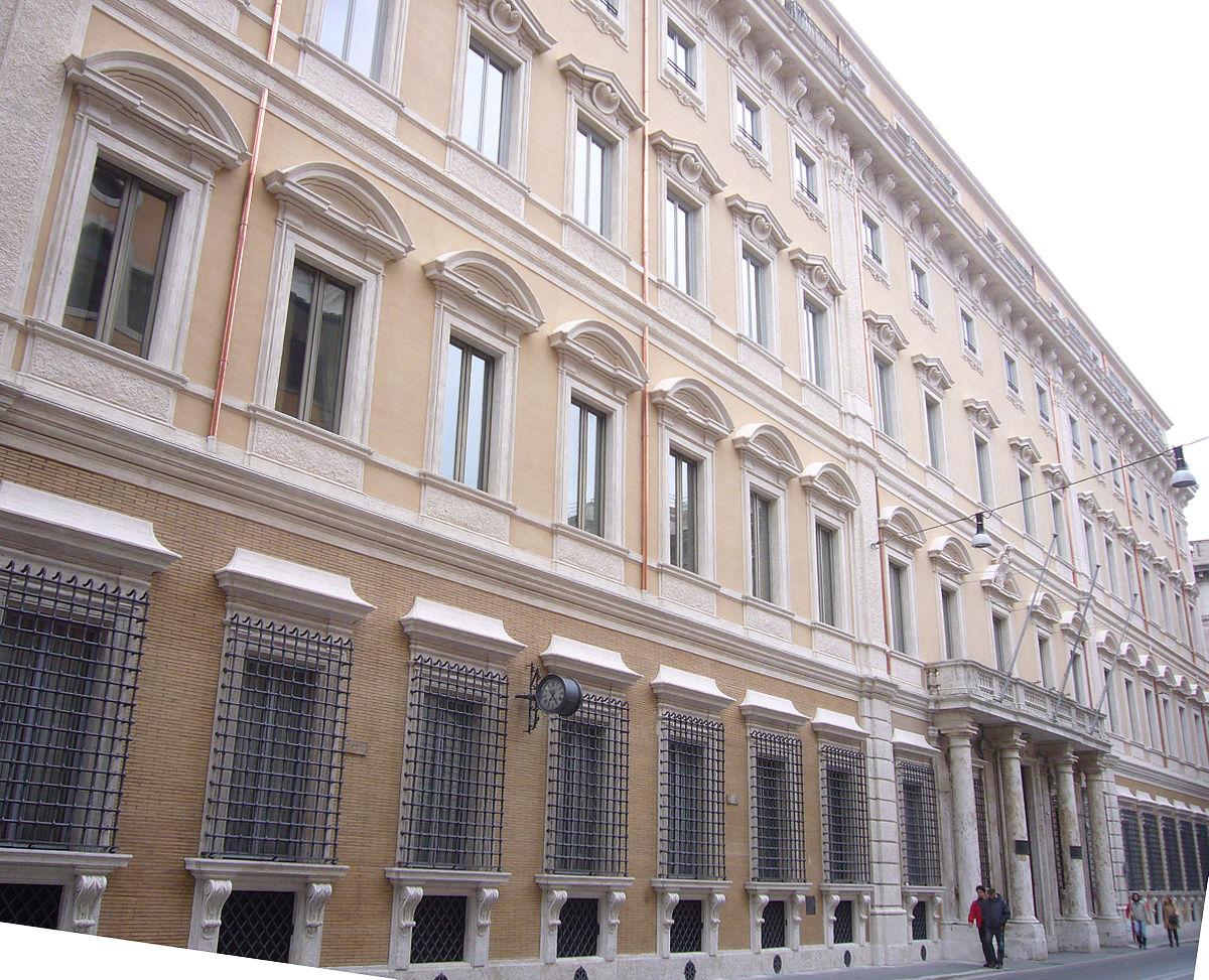Palazzo de carolis wikipedia - Architetto palazzo congressi roma ...