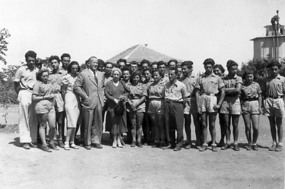 PikiWiki Israel 2794 Kibutz Gan-Shmuel sk14- 101 הנרייטה סאלד בגן-שמואל 1938-40