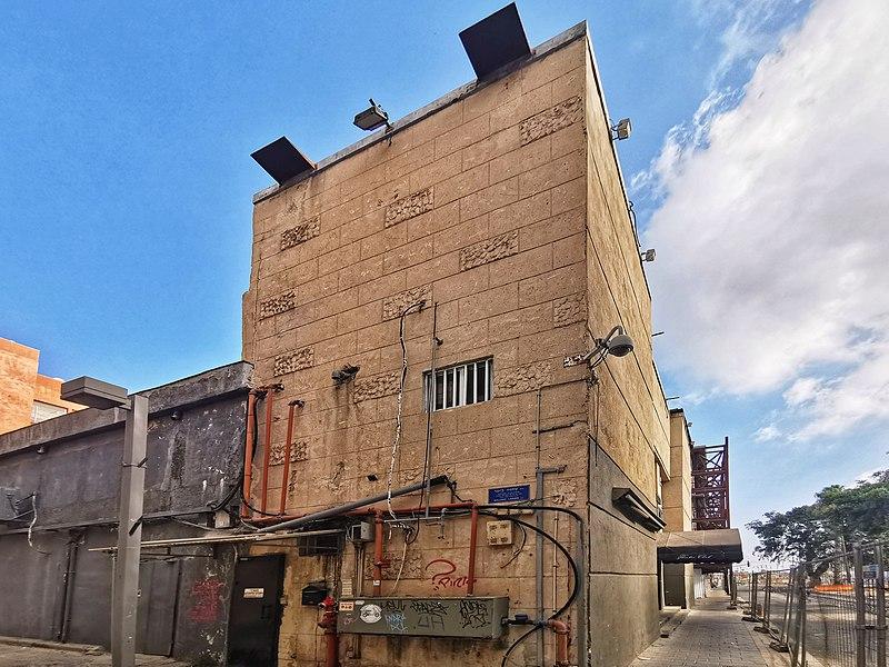 מבנה באזור שדרות ירושלים