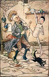 Pinocchio - the tale of a puppet (1911) (14576920760).jpg
