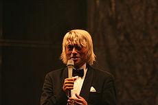 Piotr Rubik po koncercie oratorium Tu Es Petrus  w Jeleniej Górze w ramach Wrzesień Jeleniogórski 2006