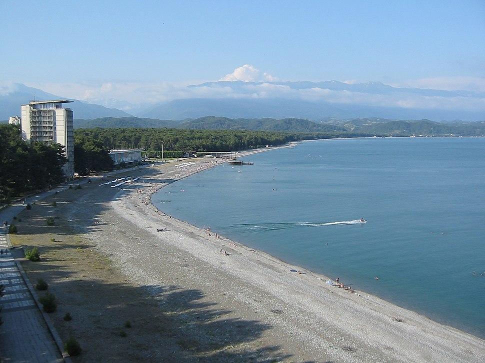 Pitsunda shore (2)