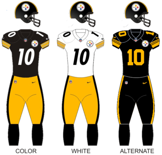 703da1d9e Pittsb steelers uniforms17.png. Team colors, Black, gold