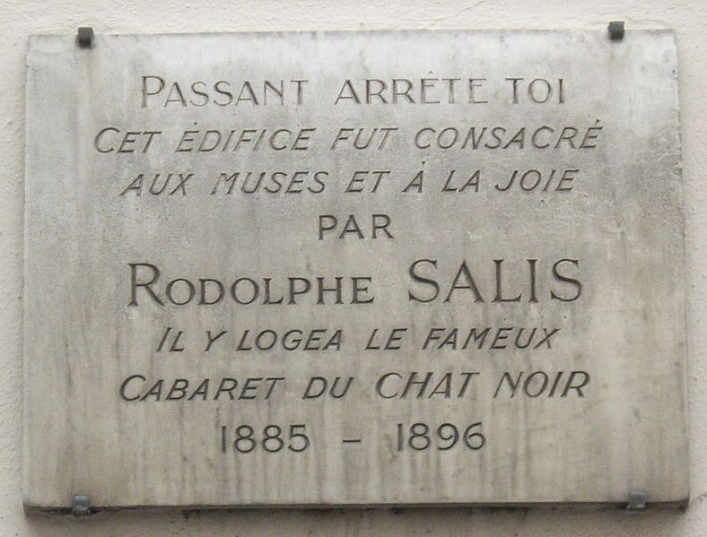 File:Plaque Rodolphe Salis, 12 rue Victor-Massé, Paris 9.jpg