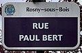 Plaque Rue Paul Bert - Rosny-sous-Bois (FR93) - 2021-04-15 - 1.jpg