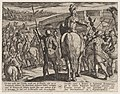 Plate 24- The Advance Guard of the New Roman Troops Turned Back, from The War of the Romans Against the Batavians (Romanorvm et Batavorvm societas) MET DP862867.jpg