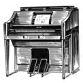 Player piano (line art) (PSF-P690007 (cropped)).png
