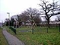 Playground at Thundersley, Essex, England.jpg