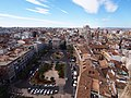Plaza de la Reina from Tower of Valencia Cathedral - 2013.07 - panoramio.jpg