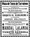 Plaza de toros de Tarragona (cartel).jpg