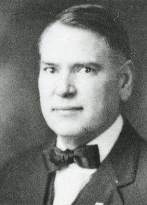 Pliny L. Allen - Allen in 1919