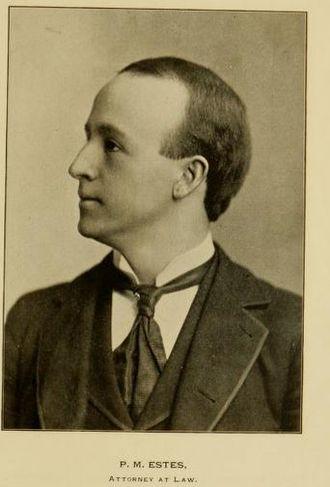 Pat Estes - Estes c. 1896